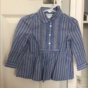 Ralph Lauren Girls Button Down Blouse